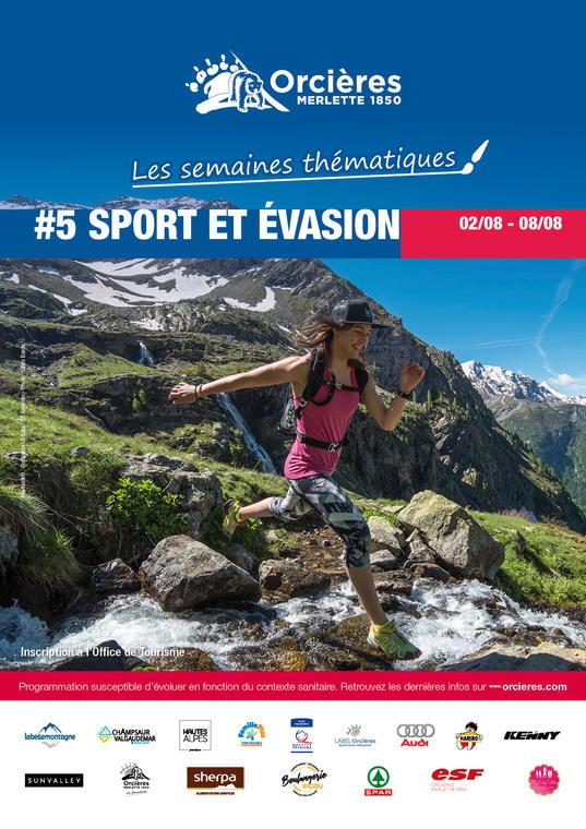 """Semaine thématique """"Sport et évasion"""""""