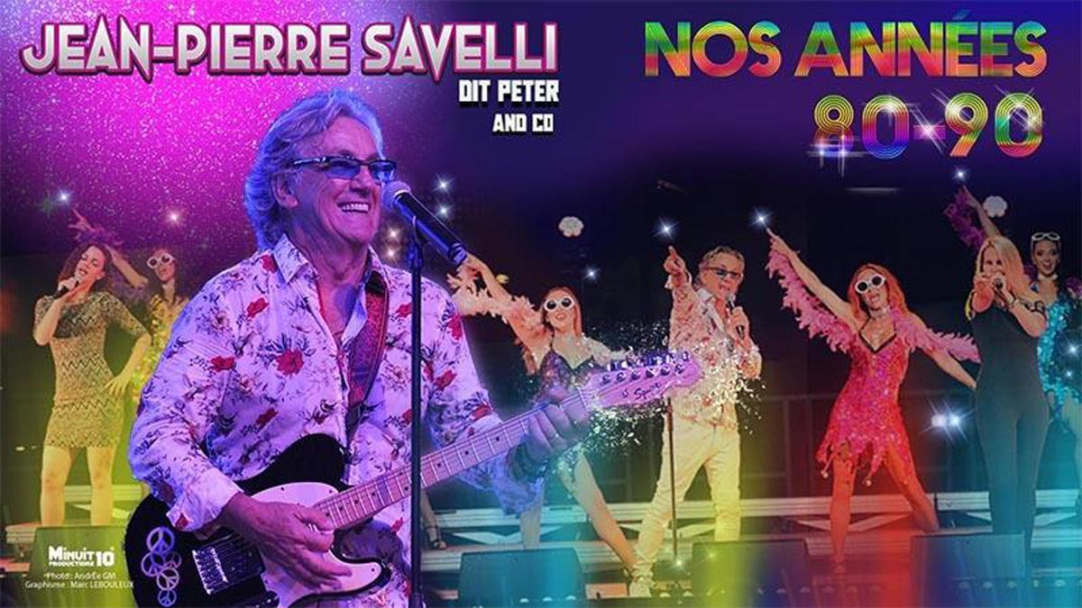 Spectacle avec Jean-Pierre Savelli