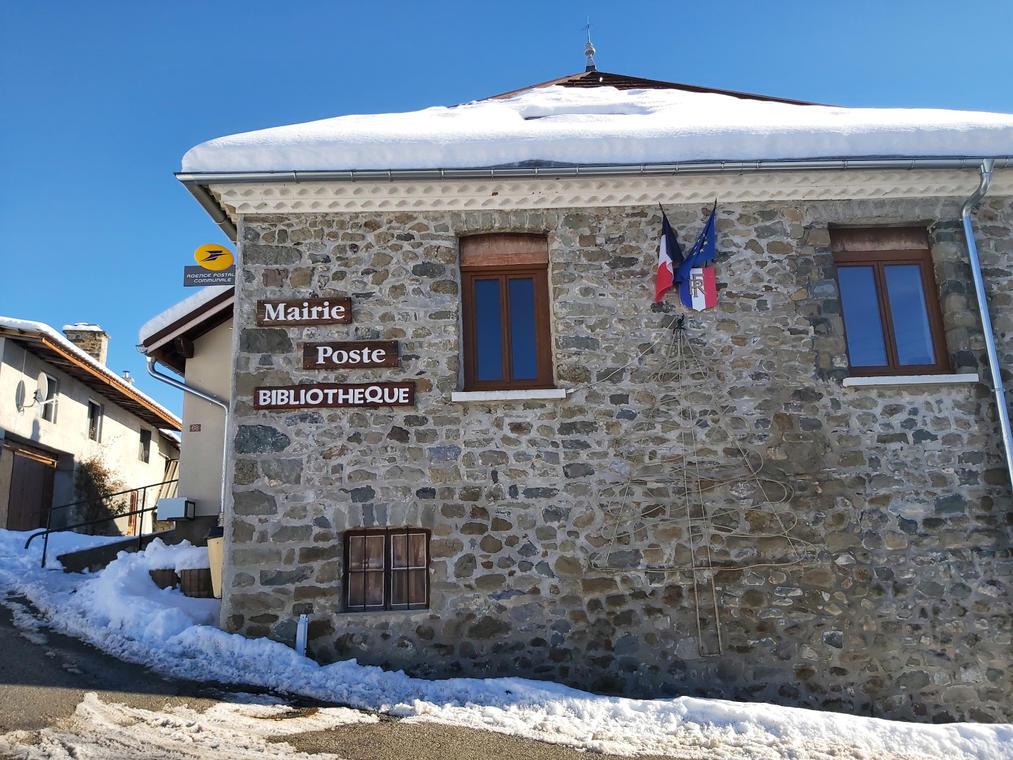 Mairie de St Michel de Chaillol