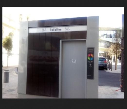 Toilettes publiques gratuites