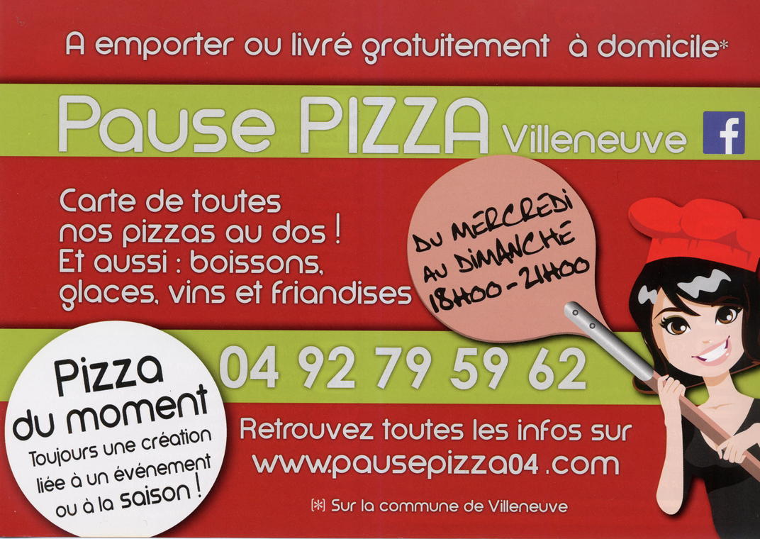 Pause pizza