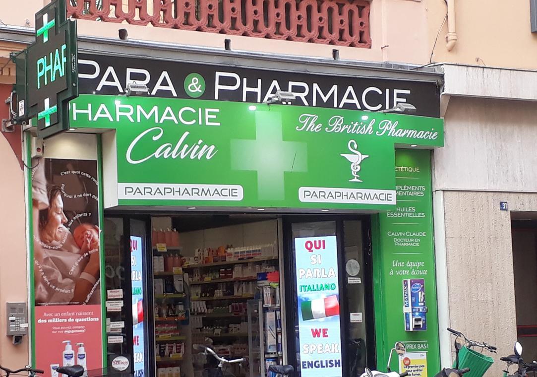 Pharmacie Calvin et Escoffier
