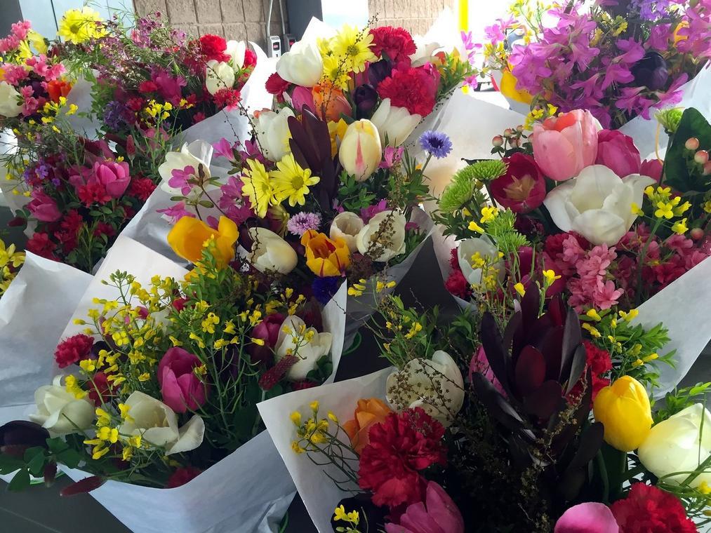 Marché aux fleurs Réformés