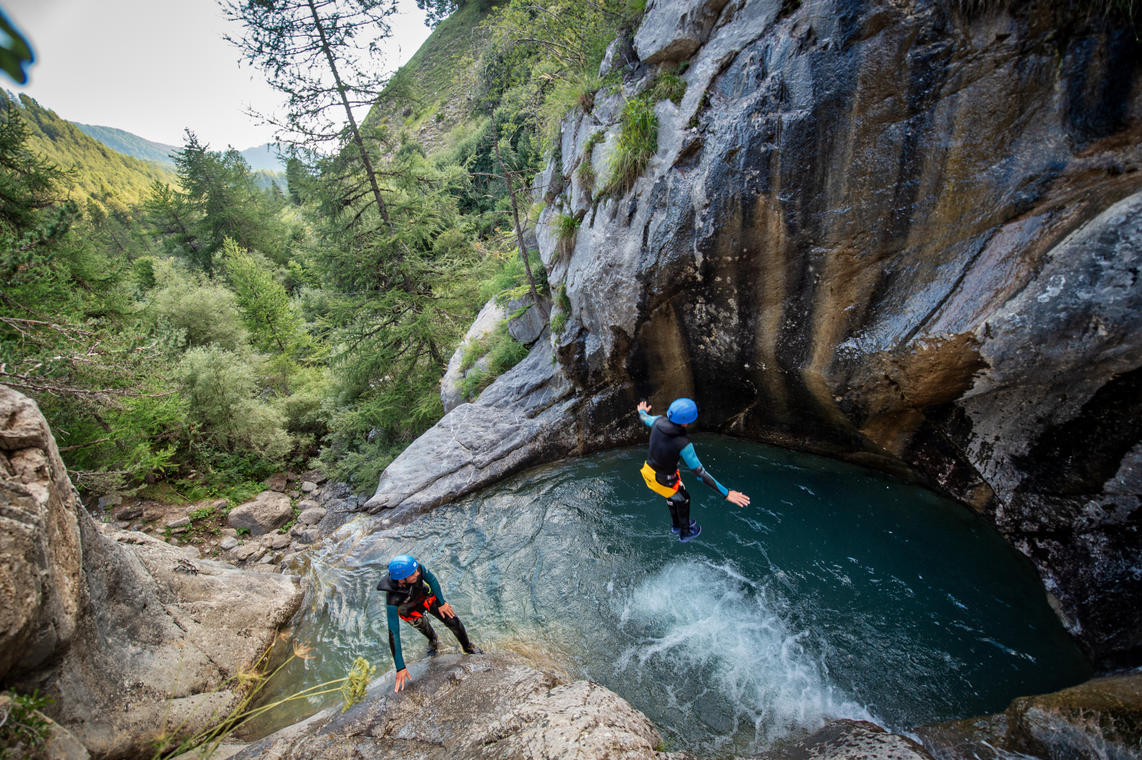 Canyoning à Ancelle