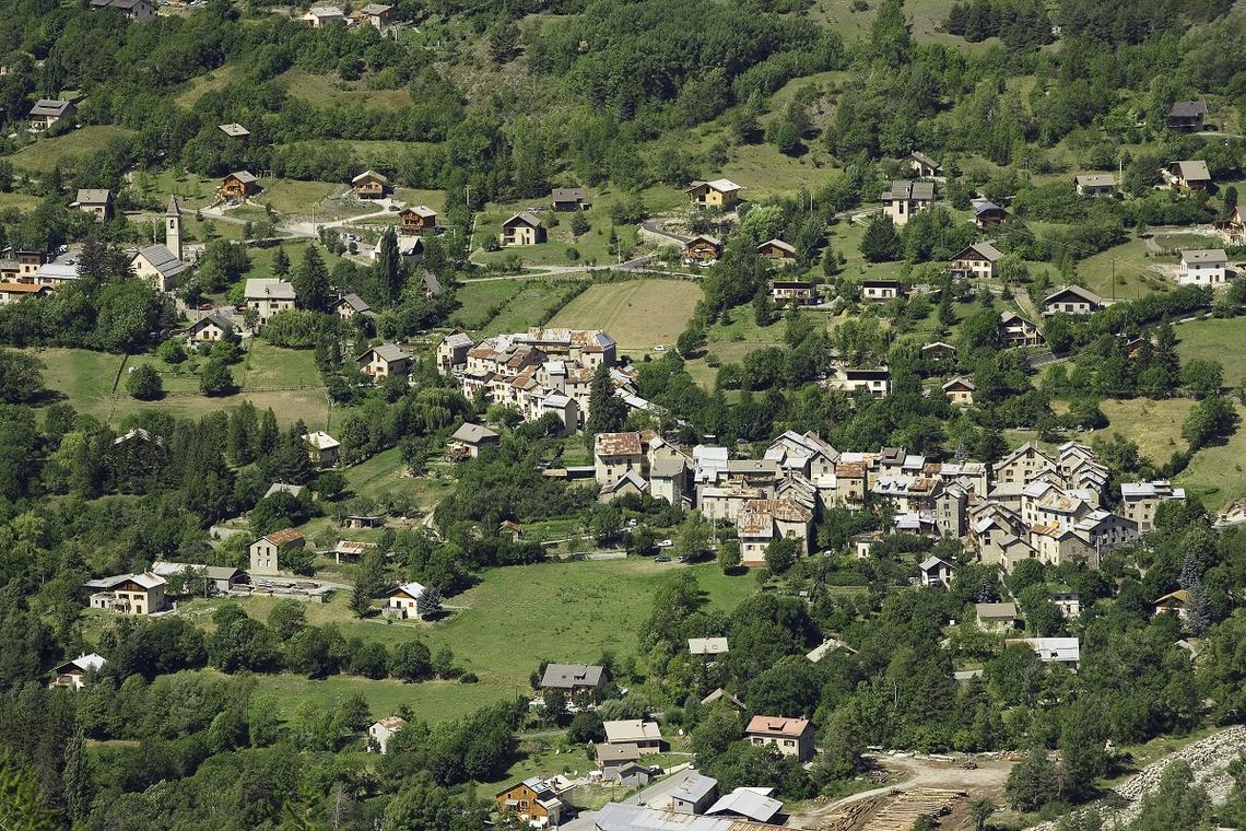 Vue de Villars Colmars