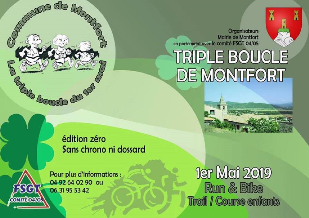 triple boucle de Montfort