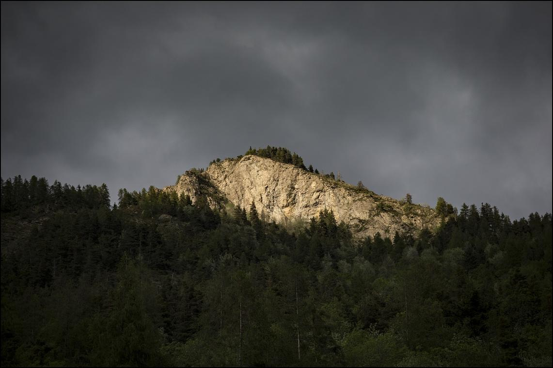 Panoramique de La Coletta vue depuis Colmars