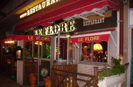 restaurant hyeres port Flore