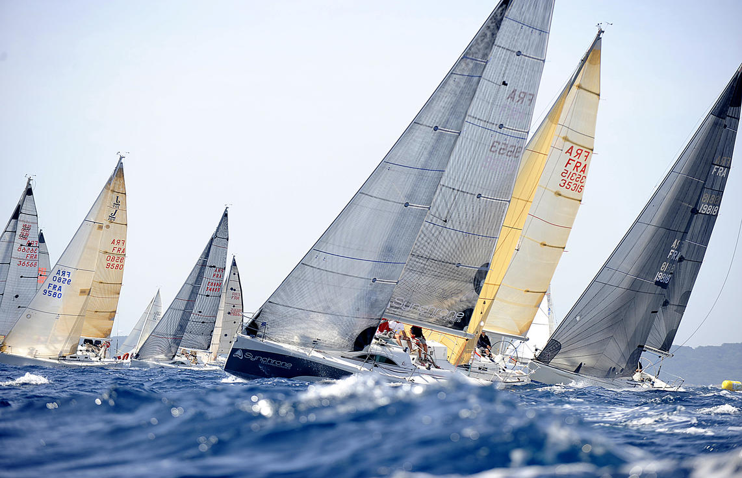 Porquerolle's Race - régate en rade de Hyeres