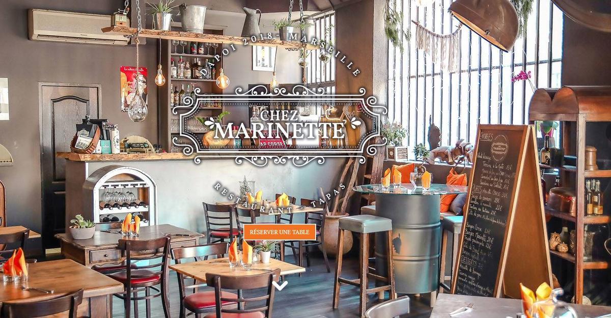 Restaurant chez Marinette Marseille