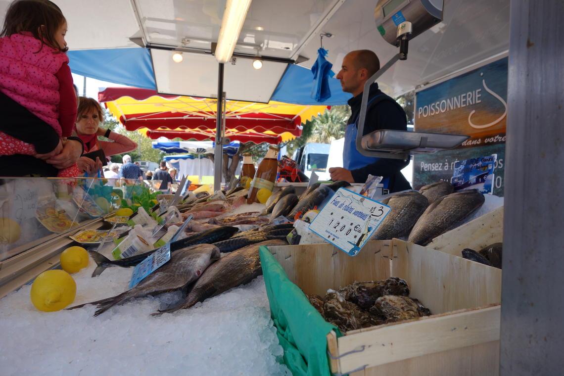 Le marché de l'Ayguade - tous les mercredi matin