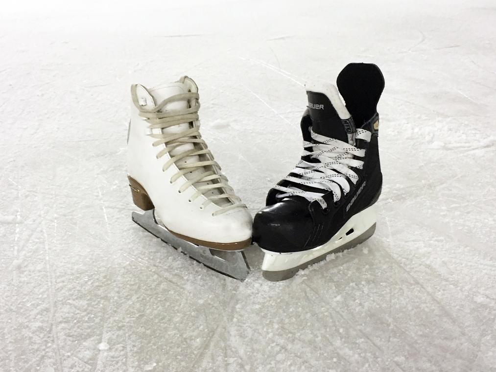 soirée patinoire