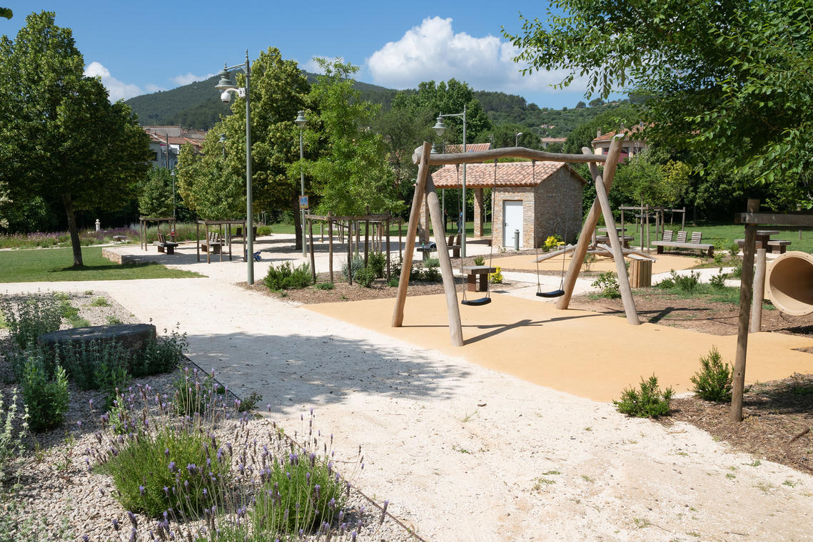 Jardin Suzanne Fournier à Cuers