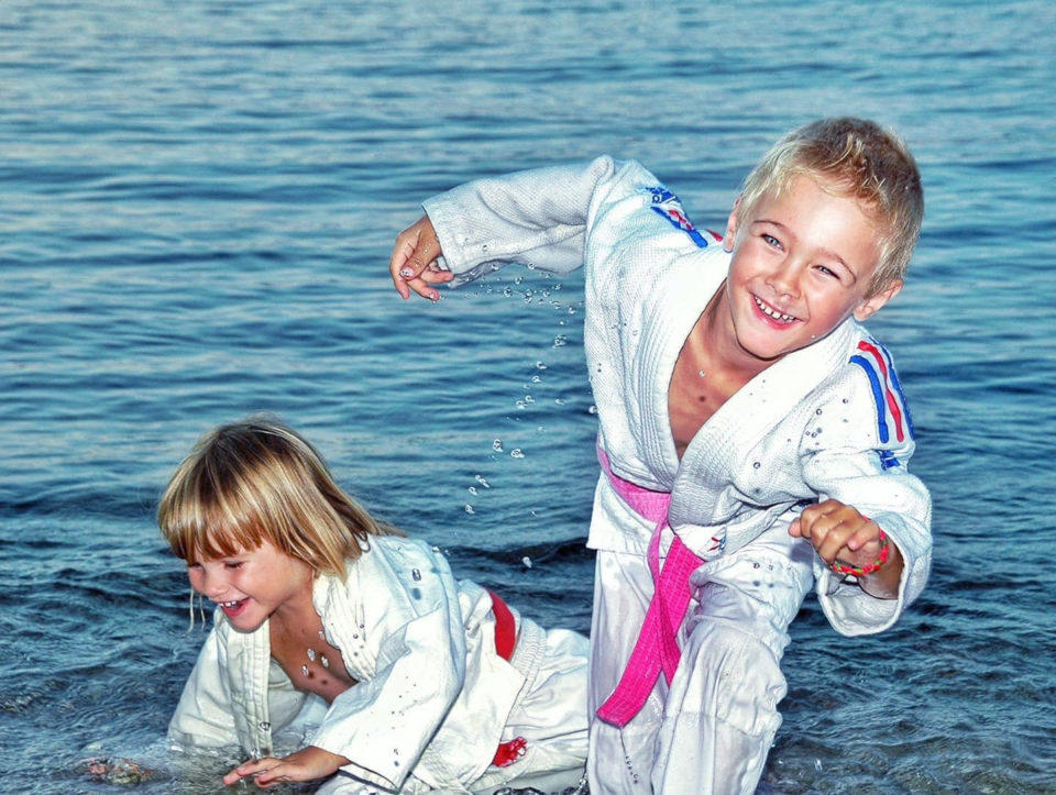Séances de judo estival - Dojo Cap Sicié