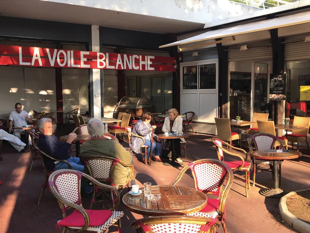 La Voile Blanche - Villeneuve-Loubet