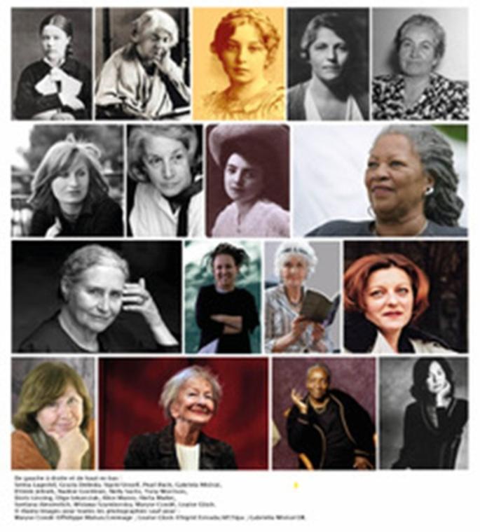 Femmes prix Nobel de littérature
