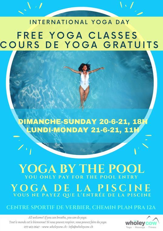 International Yoga Day - Free Yoga Class