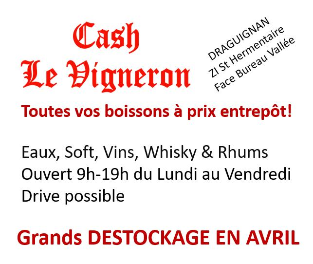 Cash Le Vigneron