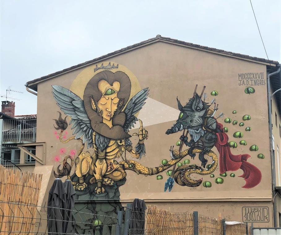 Œdipe et le Sphinx - 100Taur