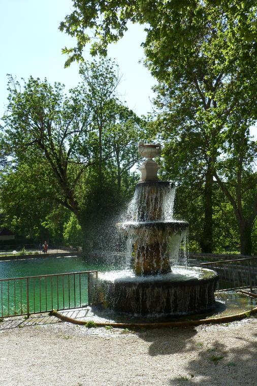 Le parc de Chateau Laval