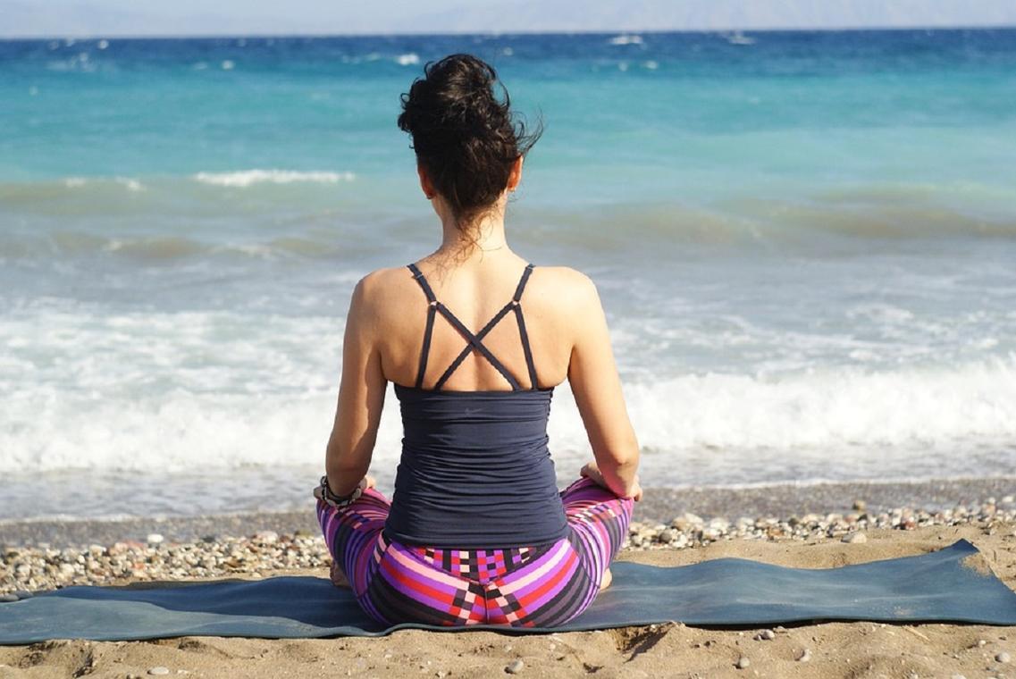 Séance yoga plein