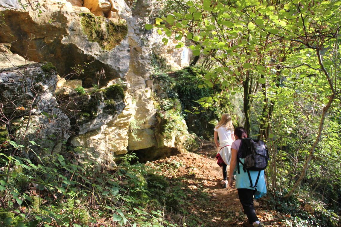Grotte de la Roche - Salavre