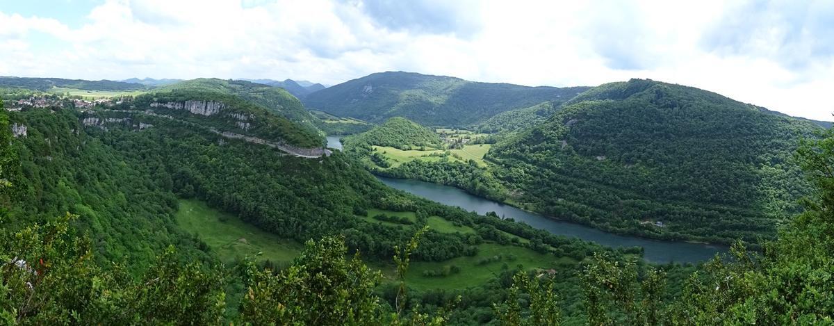 Point de vue de Chatillon - Corveissiat