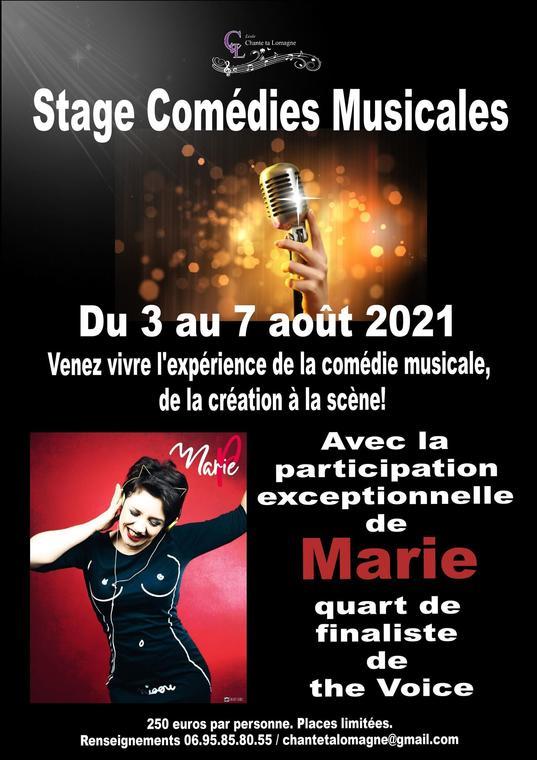 Stage comédies musicales