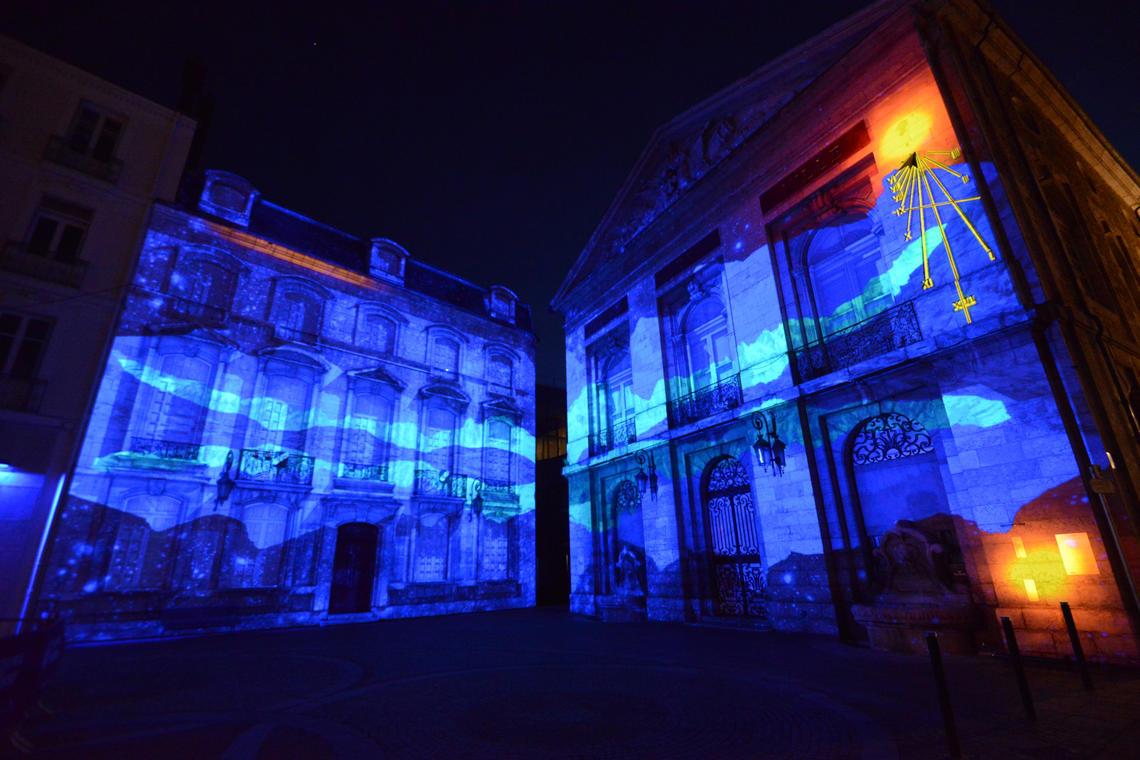Projection Hôtel de ville