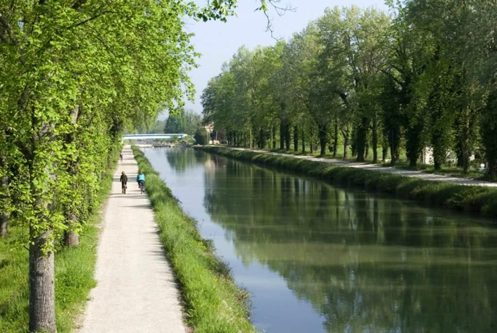 Vélo voie verte du canal