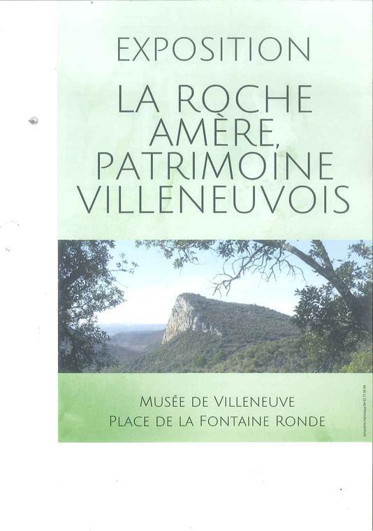 Exposition Roche Amère