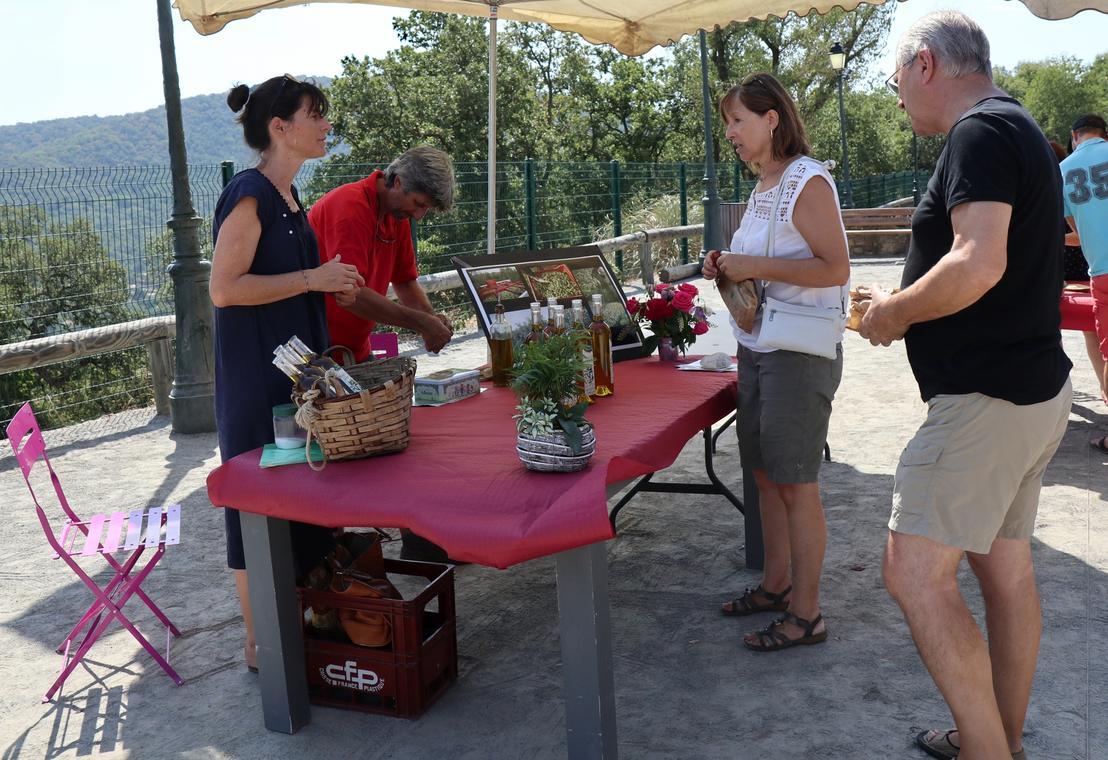 Stand Val de Bois, oléiculture à Gassin