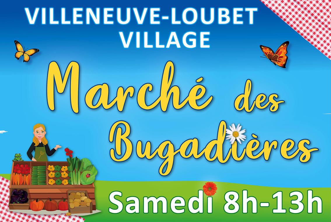 Marché des Bugadières - Villeneuve-Loubet