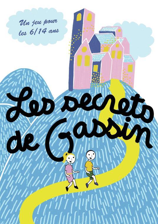 Couverture du jeu de piste Les Secrets de Gassin - https://gassin.eu