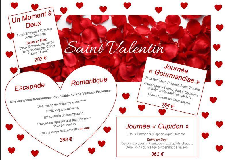 Votre Saint Valentin au SPA Malaucène