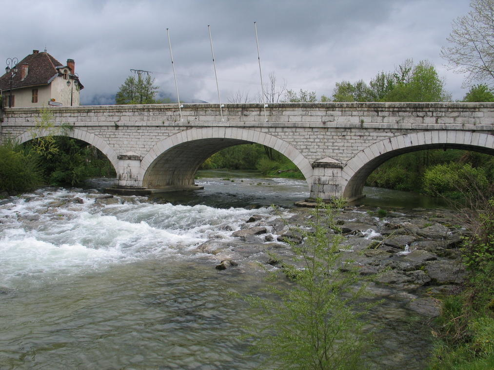 Le pont du 18 juin 1940 - Les Echelles
