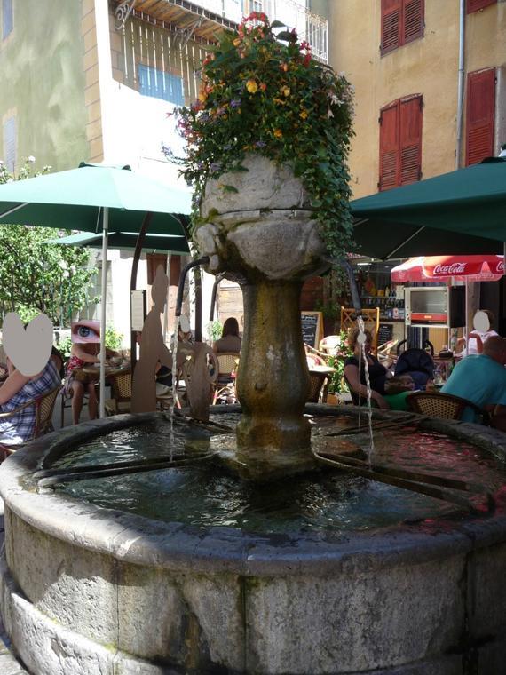 Coté fontaine