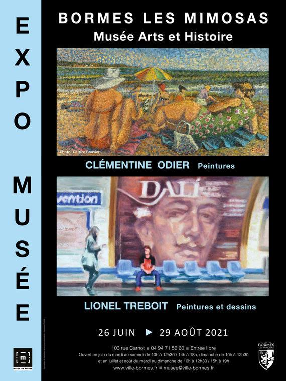 Clémentine Odier et Lionel Treboit