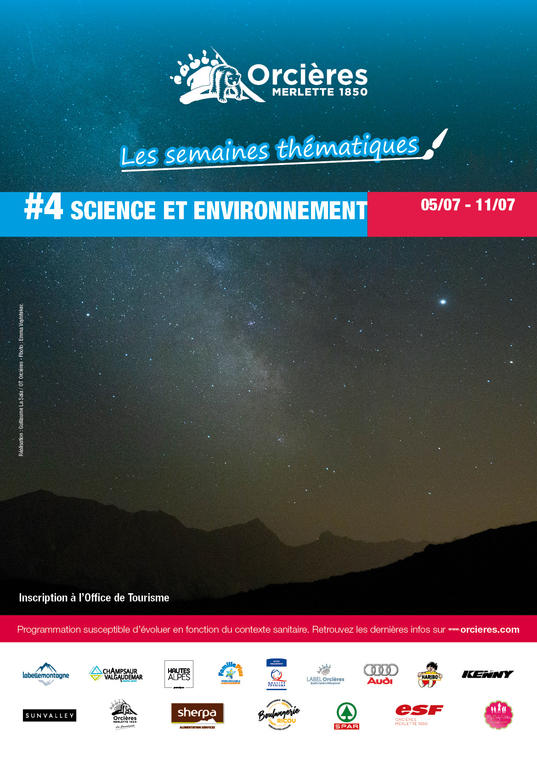 """Semaine thématique """"Science et environnement"""""""