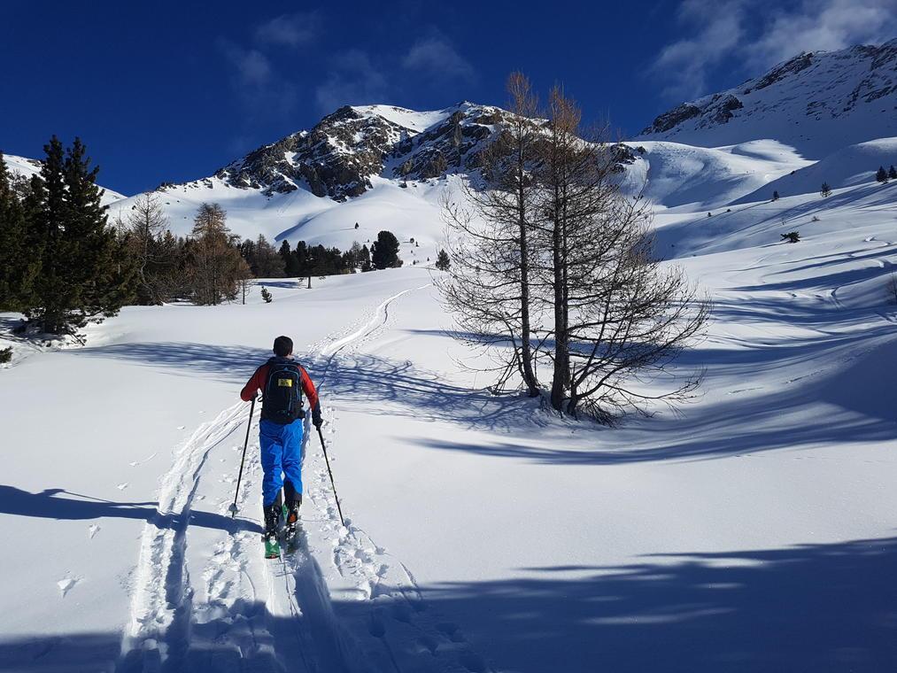 Ski de rando à Cervières
