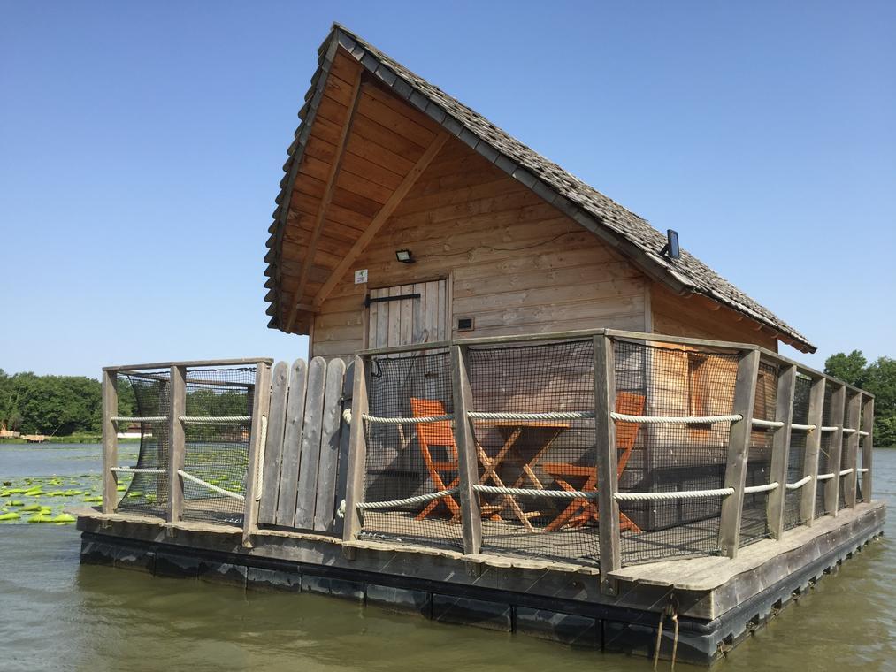Cabane flottante