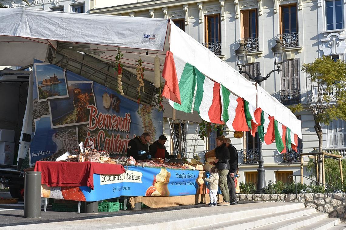 Marché italien Beaulieu-sur-Mer