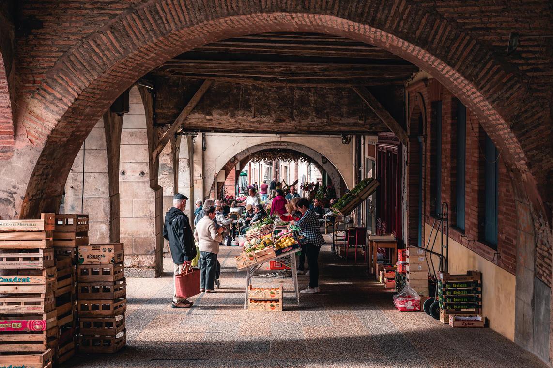 Marché de Beaumont de Lomagne