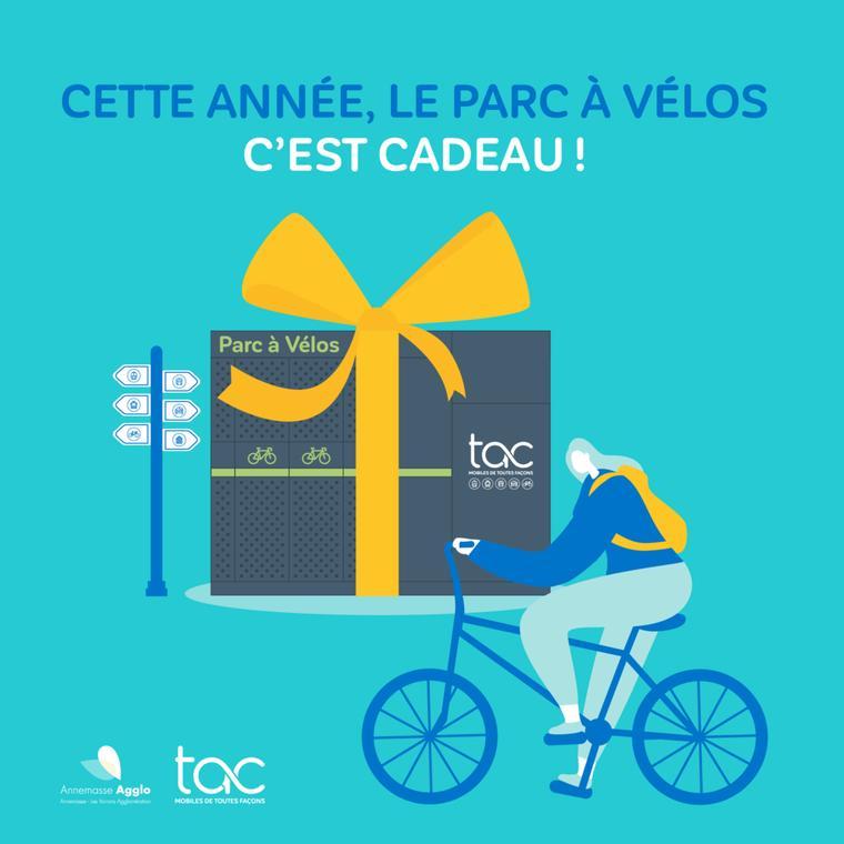 Parc à vélo gratuit