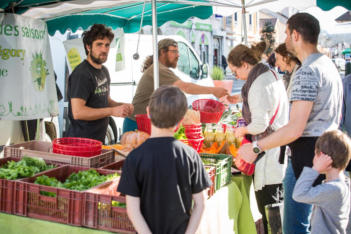 Marché de producteurs de Saint-Julien-en-Genevois