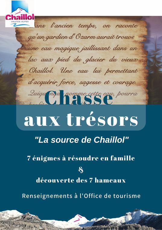 Chasse au trésor à Chaillol
