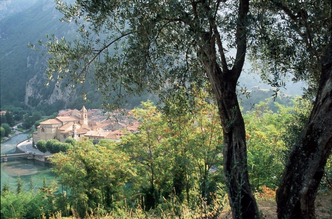 Vue village Breil-sur-Roya