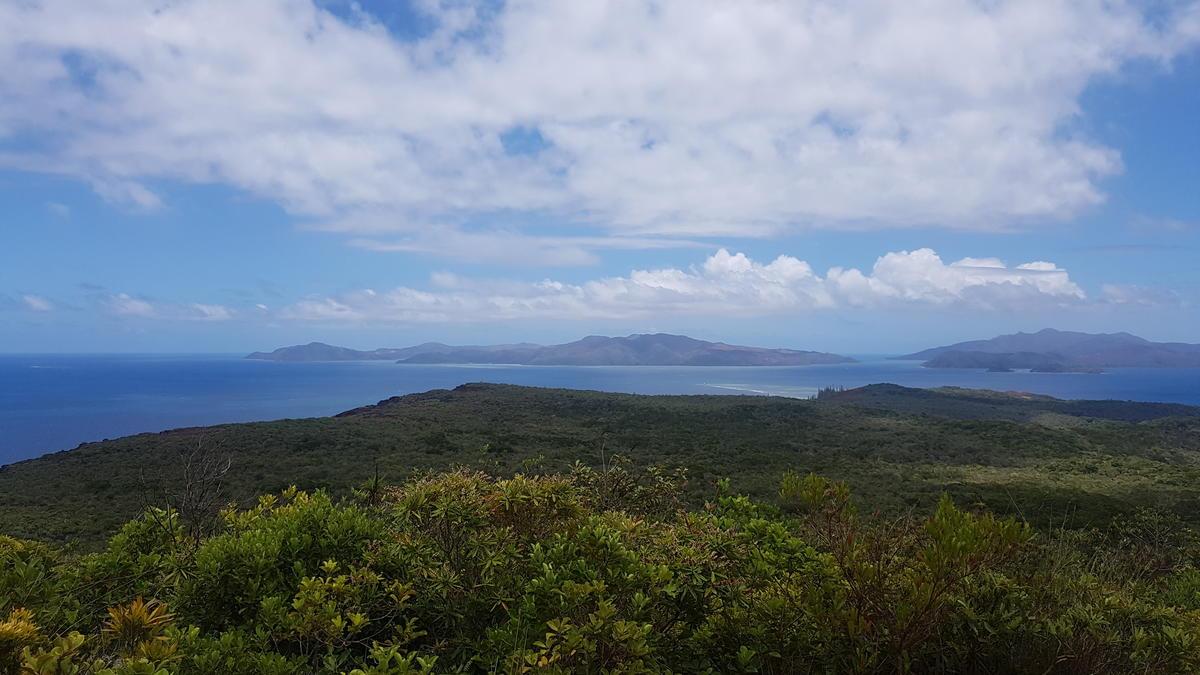 Vue sur l'ile Ouen