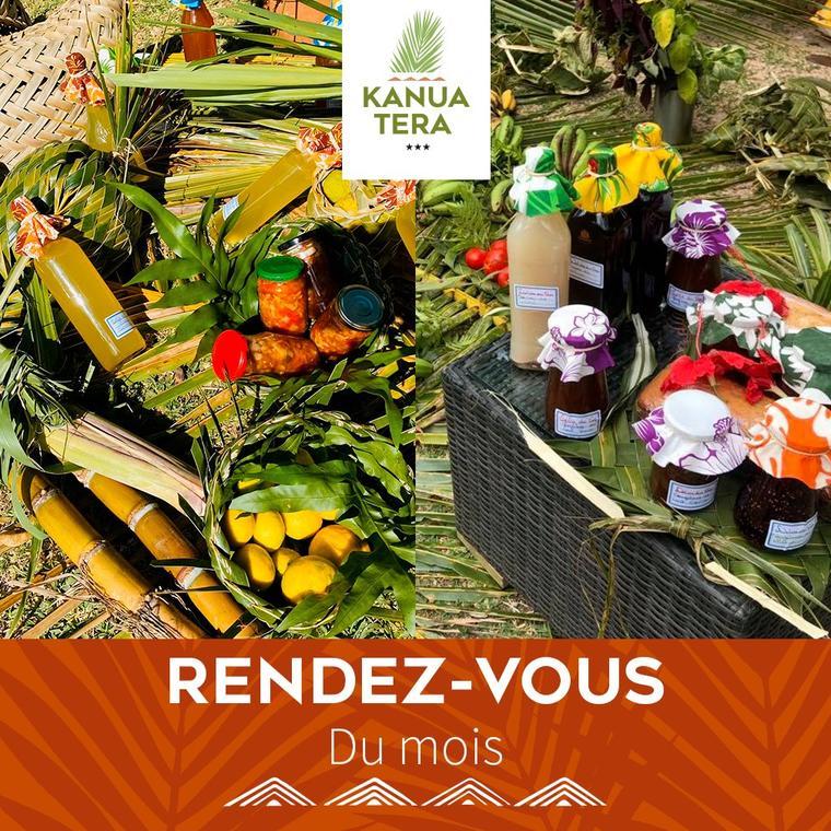affiche marché kanua Terra