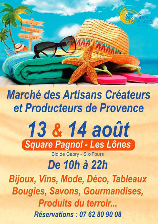 Marché des artisans créateurs et producteurs de Provence